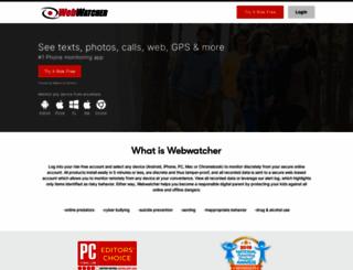 webwatcher.com screenshot