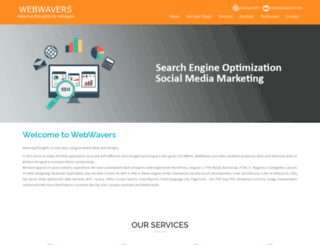 webwavers.com screenshot