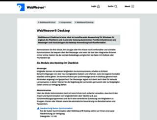 webweaver-desktop.de screenshot