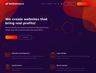 webwhale.eu screenshot