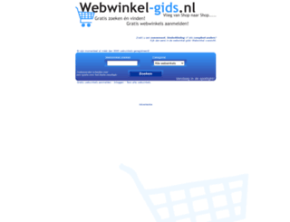 webwinkel-gids.nl screenshot