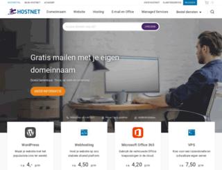 webwinkel.hostnet.nl screenshot