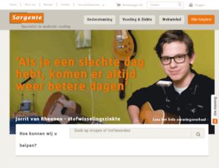 webwinkel.sorgente.nl screenshot