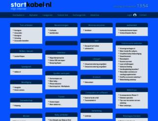 webwinkel.startkabel.nl screenshot