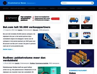 webwinkelweblog.nl screenshot