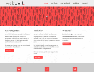 webwolf.nl screenshot