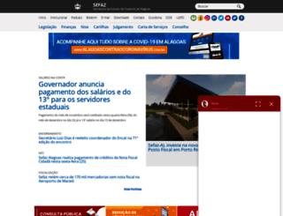webx.sefaz.al.gov.br screenshot