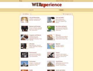 webxperience.org screenshot