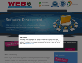 webxtechnology.org screenshot