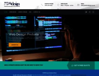 webzdesign.co.za screenshot