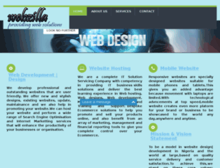webzilla.com.ng screenshot