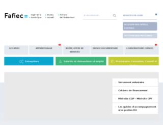 webzine.fafiec.fr screenshot