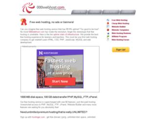 webzone.000webhost.com screenshot