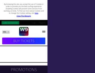 wecinemas.com.sg screenshot