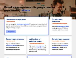 weck.nl screenshot
