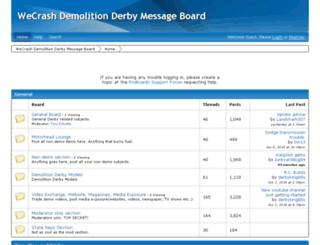 wecrash.com screenshot