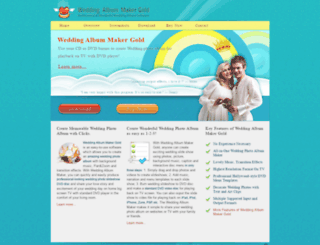 wedding-album-maker.com screenshot