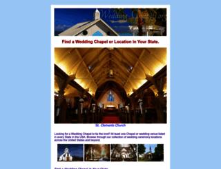 wedding-chapels.org screenshot