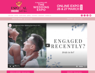 wedding-expo.co.za screenshot