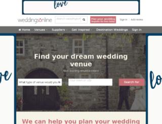 wedding-house.com screenshot