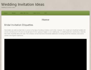 wedding-invitation-ideas.com screenshot