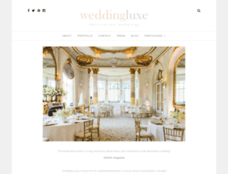 wedding-luxe.com screenshot