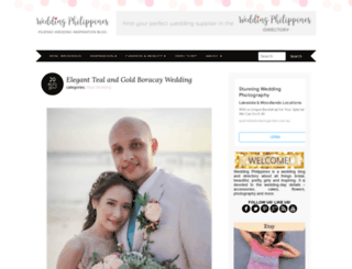 wedding-philippines.com screenshot