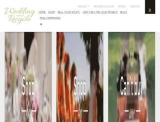 wedding-recycle.zenutech.com screenshot