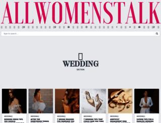 wedding.allwomenstalk.com screenshot