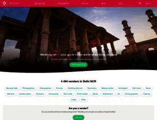 wedding.net screenshot