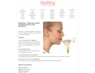 wedding.romanvirdi.com screenshot