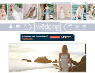 weddingandweddingflowers.co.uk screenshot
