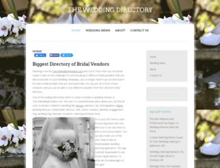 weddingb2b.com screenshot