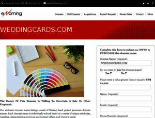 weddingcards.com screenshot
