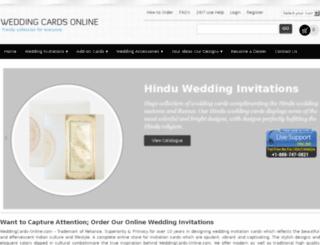 weddingcardsonline.com screenshot