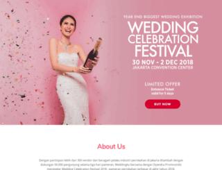 weddingcelebrationfestival.com screenshot
