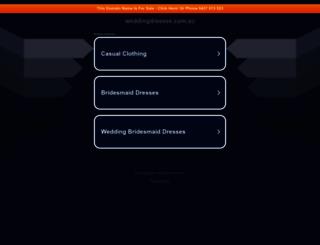 weddingdresses.com.au screenshot