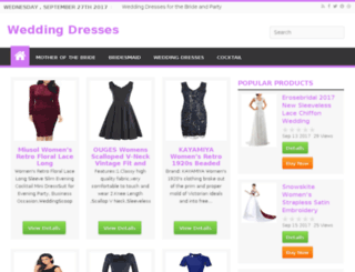 weddingdressesguide.us screenshot