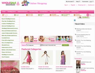 weddingdressprice.com screenshot