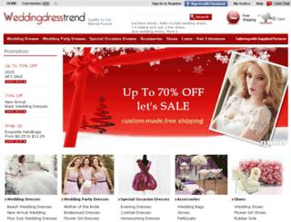 weddingdresstrend.com screenshot