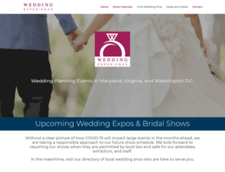 weddingexperience.com screenshot