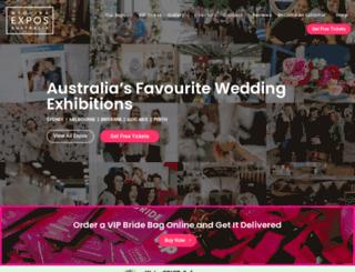weddingexposaustralia.com screenshot