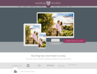 weddingfavorbliss.weddingwindow.com screenshot