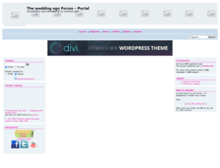 weddingforums.forumotion.co.uk screenshot