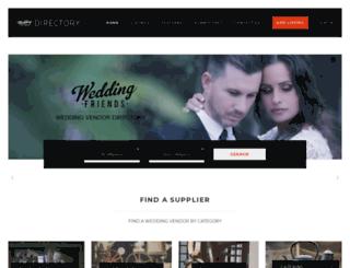 weddingfriends.co.za screenshot