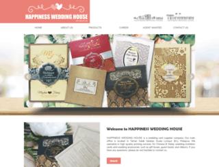 weddinghouse.com.my screenshot