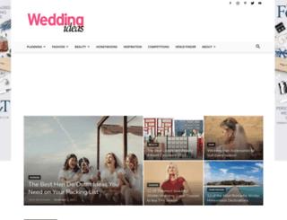 weddingideasmagazine.co.uk screenshot