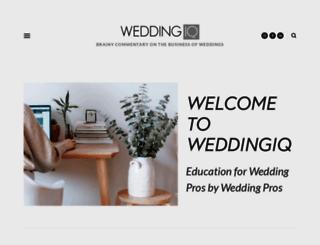 weddingiq.com screenshot