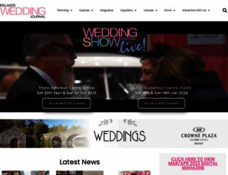weddingjournalonline.ie screenshot