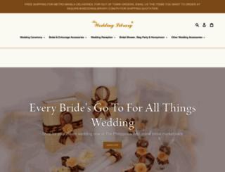 weddinglibrary.com.ph screenshot